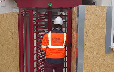 Controle d'acces, portique de sécurité